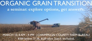 Organic Grain Transition Seminar 3/10/2015