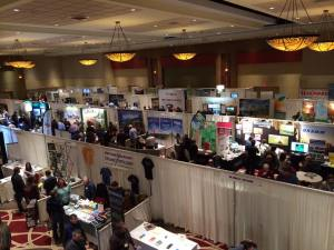 A glimpse into what this year's trade show could look like...Last year's birds eye view.
